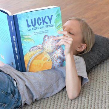 Lucky auf Tour oder wie ein Buch uns über die Reisepause hilft