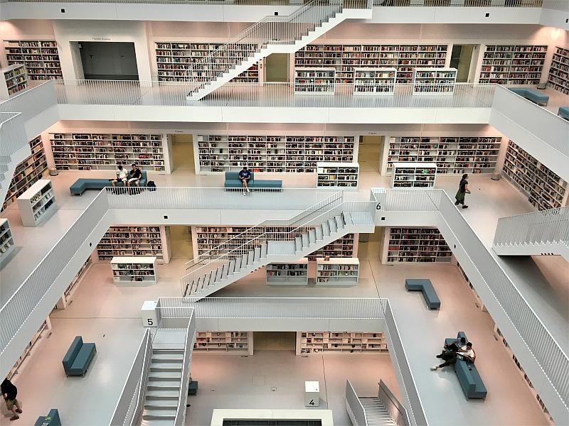 Ausflüge mit Kindern rund um Stuttgart: Stadtbibliothek Stuttgart