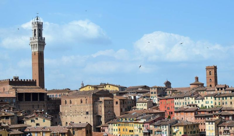 Toskana mit Kindern Siena