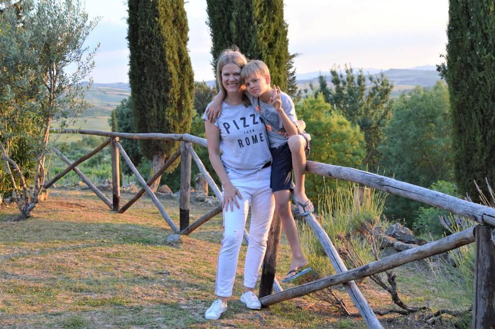 Toskana mit Kindern Asciano