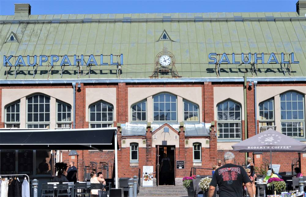 Helsinki_Minicruise_mit_Kindern_Markthalle