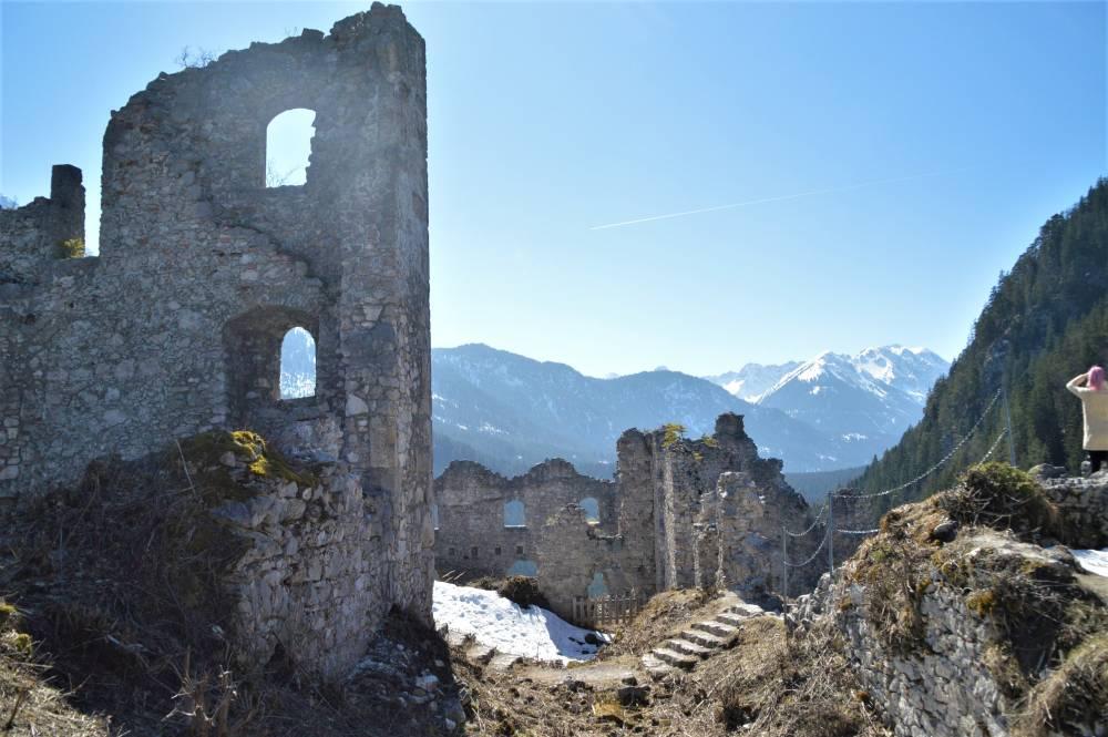 Allgäu mit Kind Burg Ehrenberg
