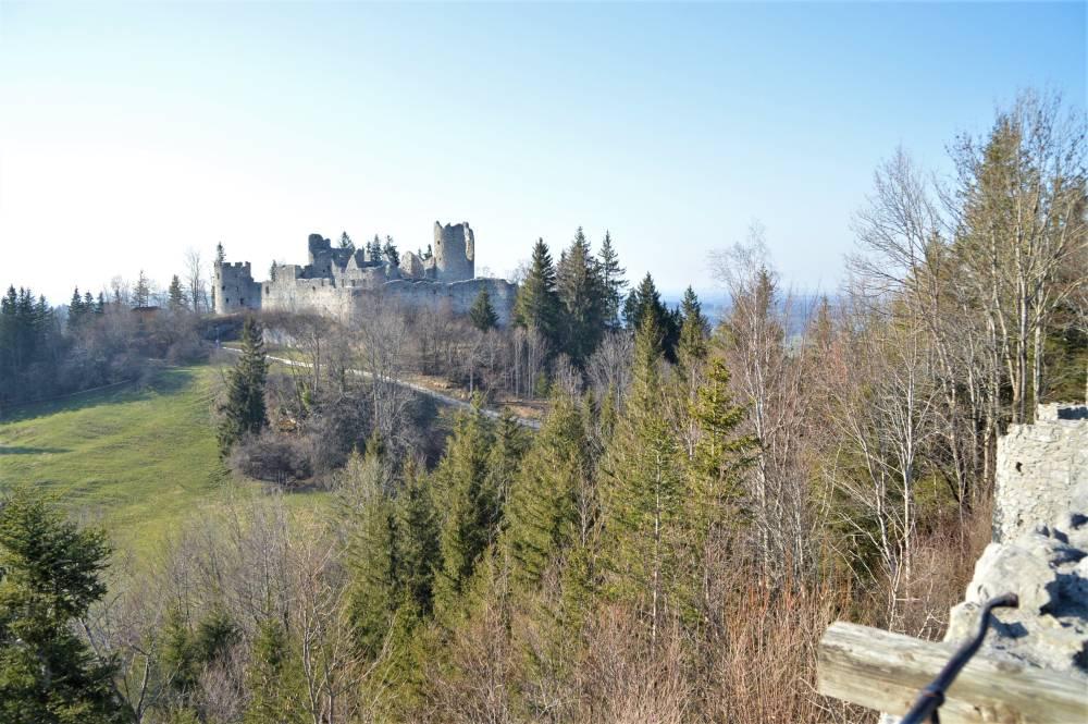 Allgäu mit Kind Burg Eisenberg