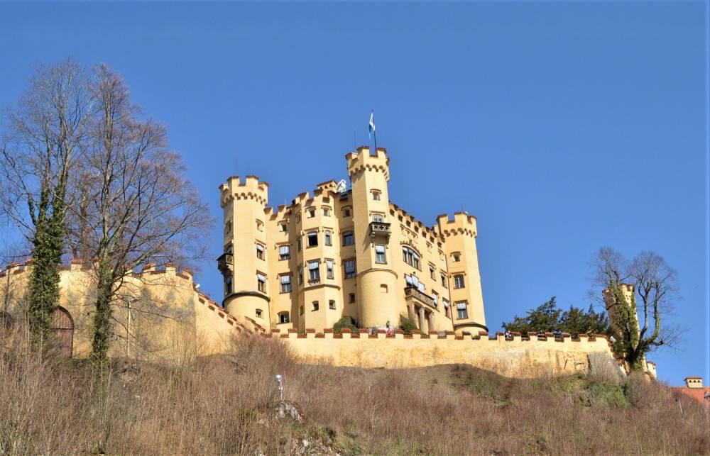 Allgäu mit Kind Schloss Hohenschwangau