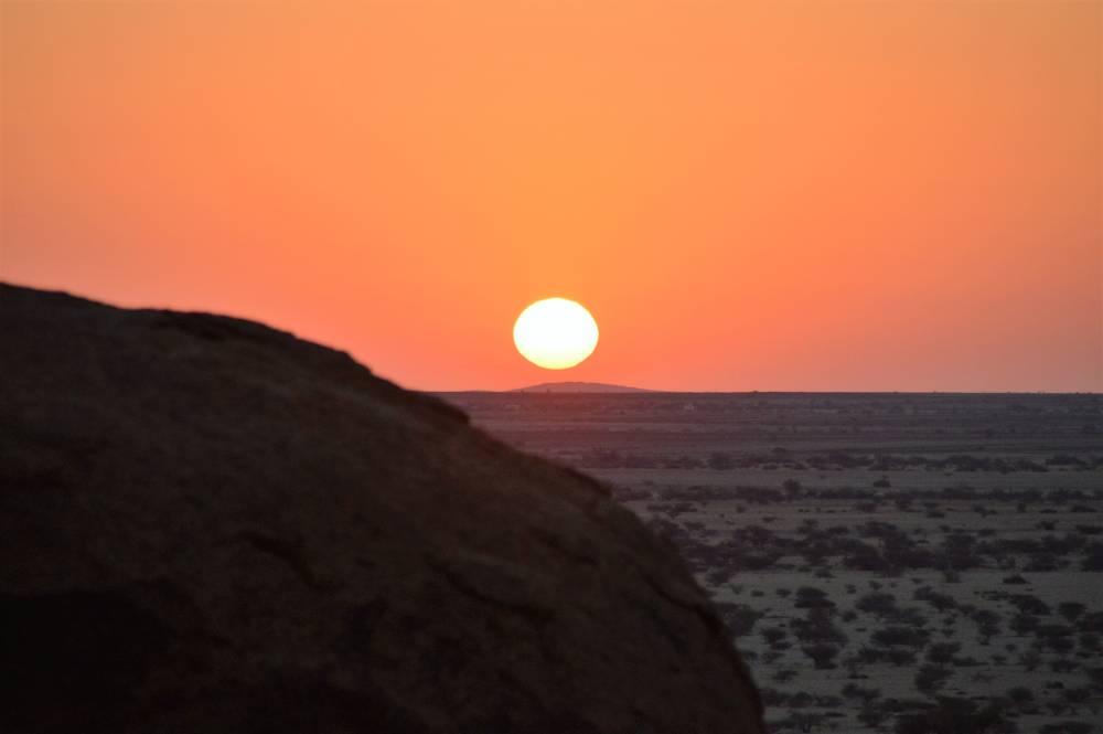 Namibia mit Kindern Spitzkoppe